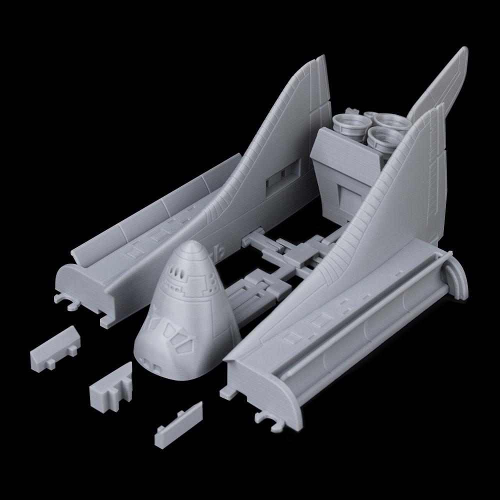 Foldable Space Shuttle
