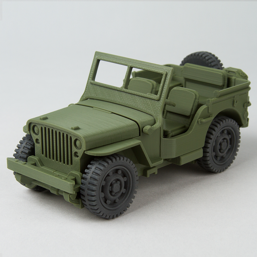 Foldable Willys MB Jeep