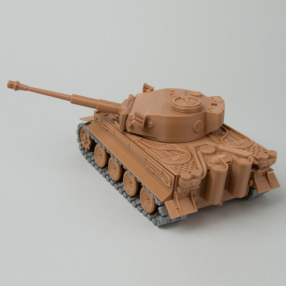 Foldable Tank TIGER-I early production