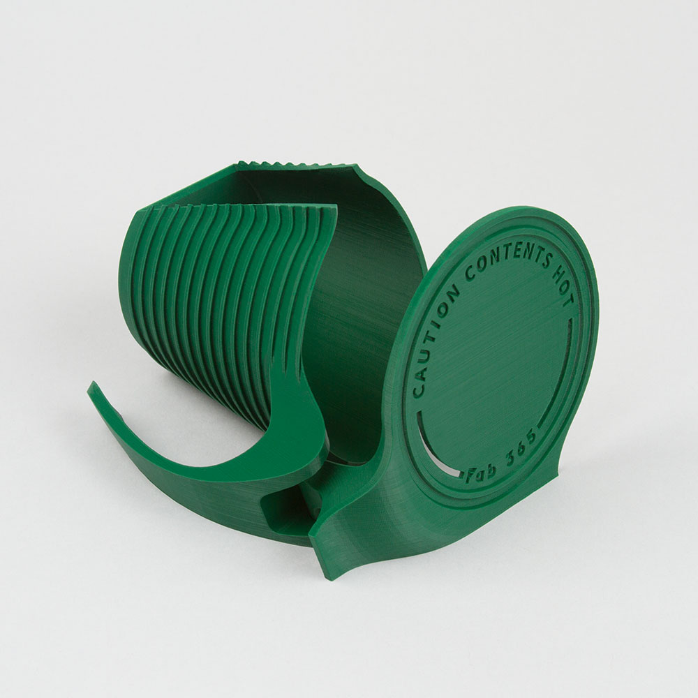 paper cup holder with handle - tall size