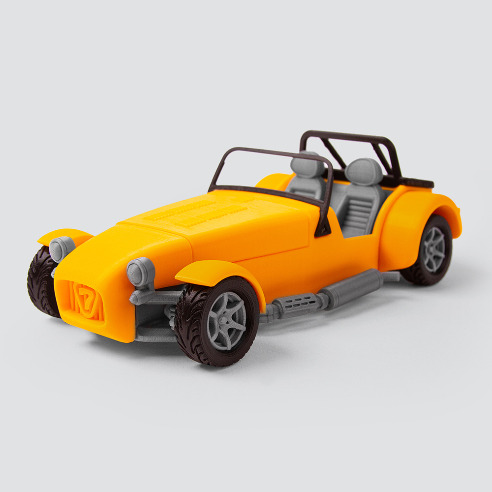 Foldable Caterham Super 7