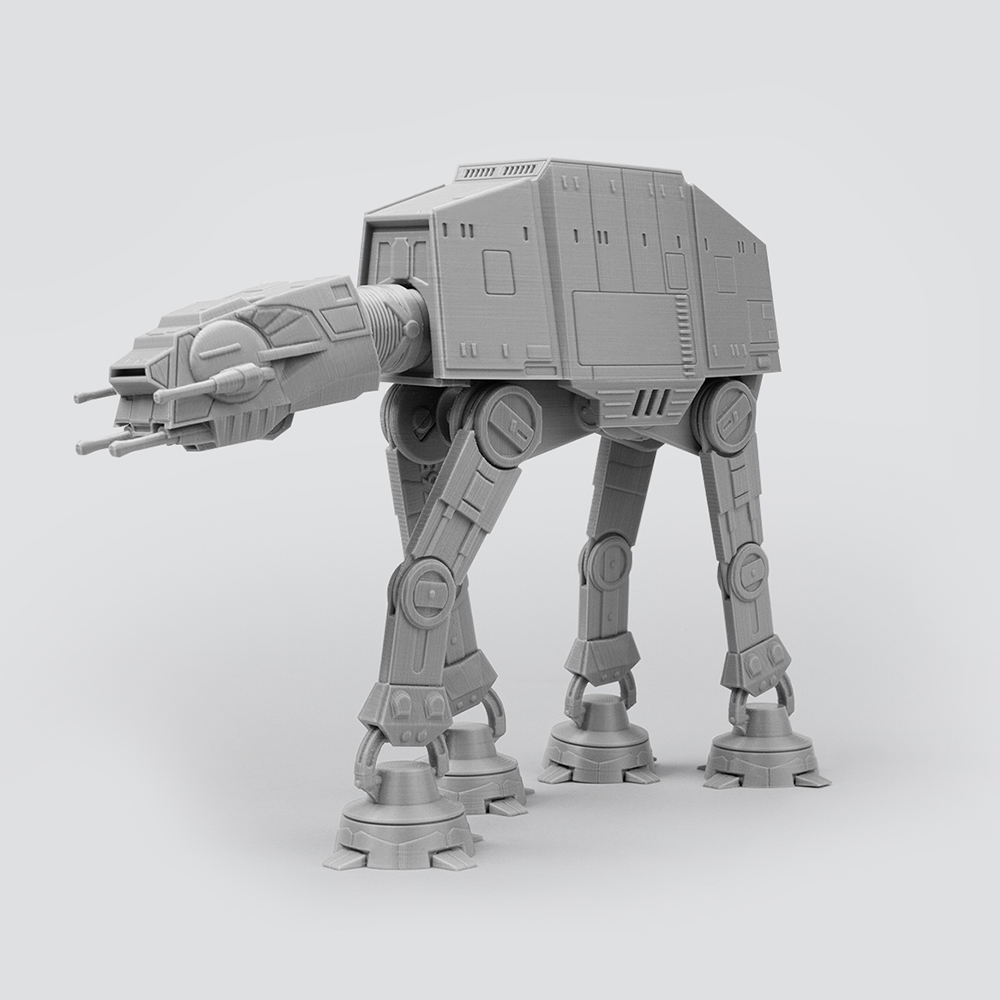 Print-in-place Articulated Starwars ATAT