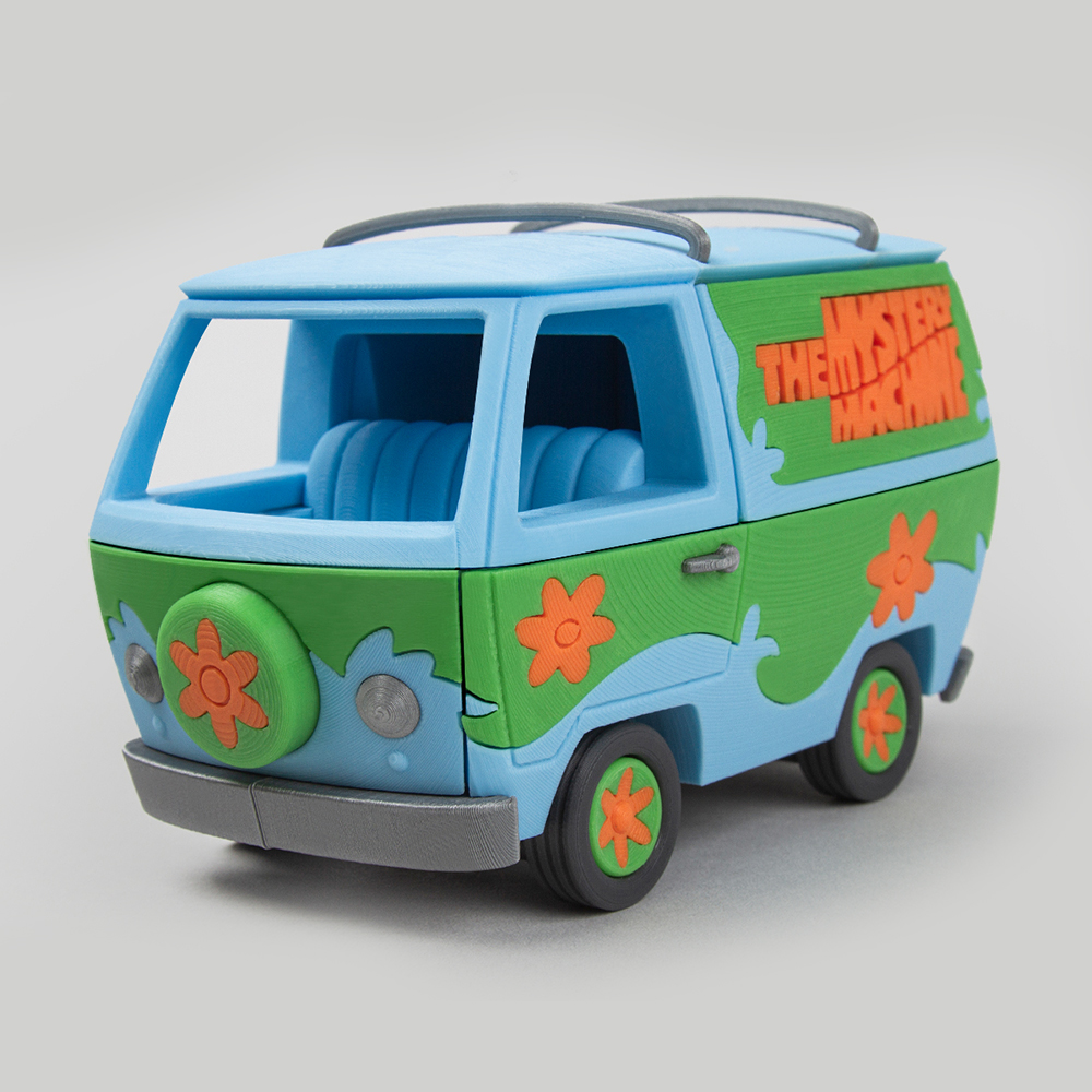 Foldable Mystery machine - Scooby Doo