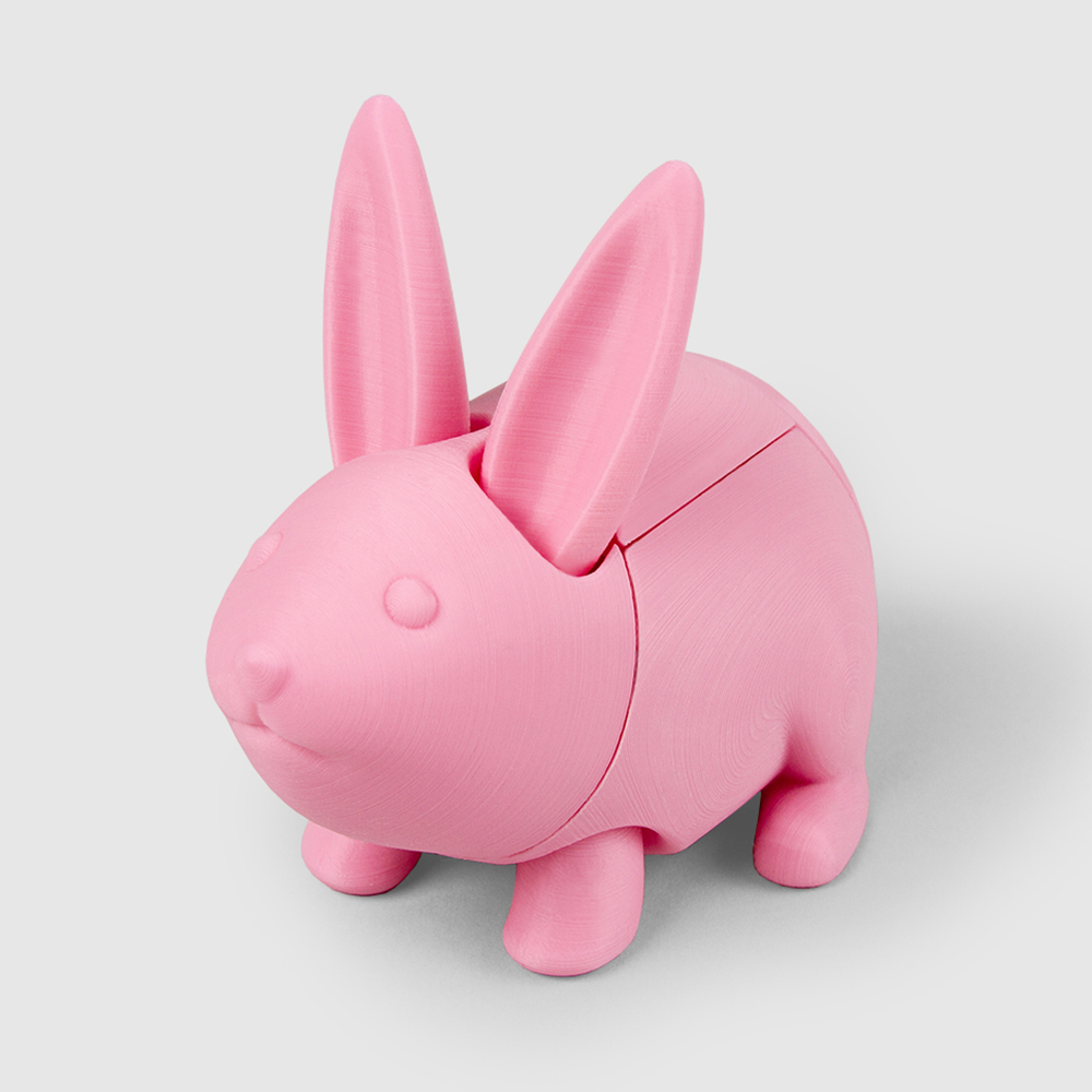 Easter bunny bank(Foldable)